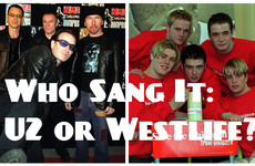Who sang it: U2 or Westlife?