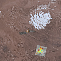 Lake of water discovered beneath the surface of Mars