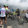Froome knocked off his bike by French policeman who mistakes him for fan