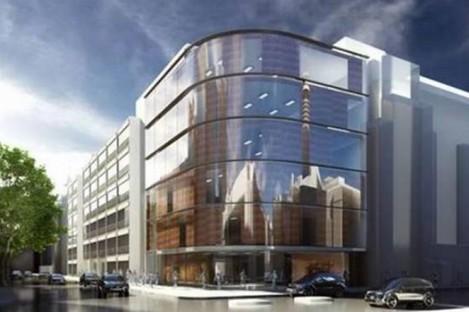 Artist impression of new London hospital