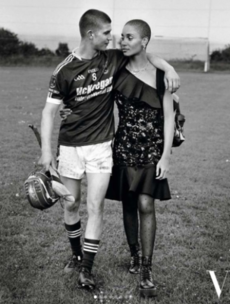 A hurler wearing a GAA jersey features in the latest issue of Vogue Paris