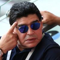 Diego Maradona calls into live TV show to call nephew a 'coward'