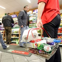Ouch: consumer prices rose by 2.2 per cent over the past year