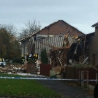 Seven rescued from Manchester gas blast
