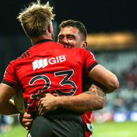 Crusaders crush 'Canes to move step closer to back-to-back Super Rugby titles
