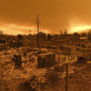 Thousands flee deliberate California fire that has destroyed 500 buildings