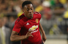 Mourinho frustrated by Martial's absence: 'He should be here and he's not here'