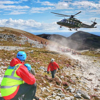 Man airlifted to hospital as thousands climb Croagh Patrick