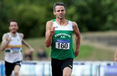 Thomas Barr runs championship best time as he storms to an eighth national title in Santry