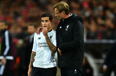 'You cannot replace Coutinho' - Klopp