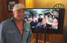 Garth Brooks was impressed by the Mayo footballers' rendition of The River