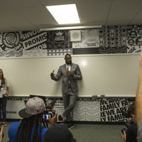 LeBron James opens a new public school for at-risk kids in his hometown of Akron, Ohio