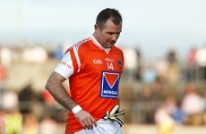 Armagh's McDonnell announces his retirement from inter-county football