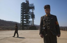 VIDEO: North Korean rocket shatters after launch