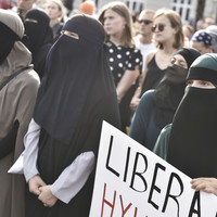 Women defiant as Denmark's full-face veil ban comes into effect