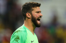 'It's pretty likely' - Alisson set for Liverpool debut in Dublin after world-record deal for a goalkeeper