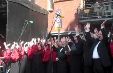 Hallelujah - Handel's Messiah takes to the street today