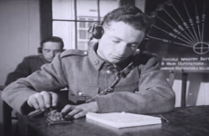 VIDEO: How the Defence Forces used the latest technology... Morse code