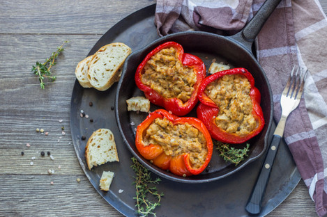 Stuffed peppers with tuna