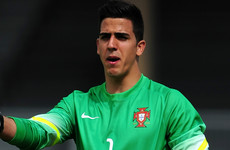 a083275066f Promising Portuguese goalkeeper Pereira leaves Man Utd on season-long loan