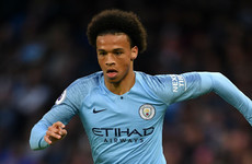 Sane: Man City getting closer to winning Champions League