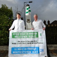 Shamrock Rovers fans undertake 10k walk to commemorate 25 years since Milltown move
