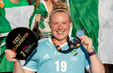 Ireland's Ayeisha McFerran named goalkeeper of the World Cup