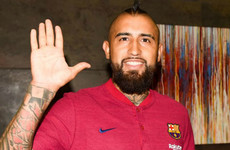Arturo Vidal ready to 'win everything' after agreeing €20m move to Barcelona