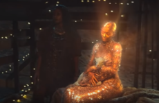 Travis Scott's new music video stars Kylie Jenner as the Virgin Mary because why not