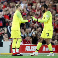 Liverpool keeper Karius thanks Anfield faithful after their show of support