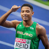 'I gave him a look to make sure he knew I was there': Leon Reid powers into European 200m final