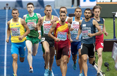 Season's best for Mark English not enough to advance from 800m heats