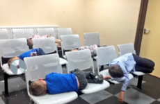 'They had nowhere to go': Mother and six children spend night on chairs at garda station
