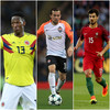 Everton complete triple swoop for Barca pair Mina and Gomes and Brazil winger Bernard