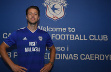 Ireland midfielder Arter completes late move to newly-promoted Cardiff
