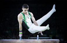 Irish teen gymnast Rhys McClenaghan qualifies in first place for European final