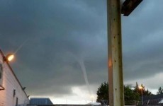 VIDEO: Sea tornado spouts up at Bray