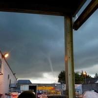VIDEO: Sea tornado spouts up at Bray