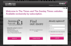 Times reveals readership numbers behind online paywall