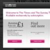Times reveals readership numbers behind online paywall