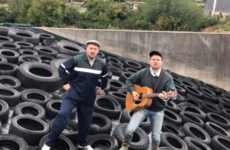 Two Irish singers got their song to No.1 on iTunes by raffling a bale of silage as a prize for buying the single