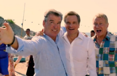 We need to discuss Pierce Brosnan's singing in Mamma Mia 2