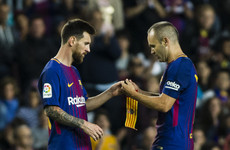 Messi succeeds Iniesta as Barcelona's new club captain