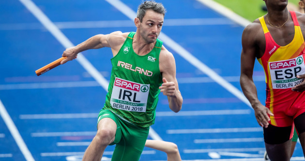 Barr forced to take flight but Ireland's relay team just miss out on final spot