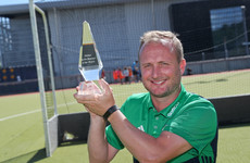 Shaw named manager of the month after guiding Ireland to World Cup silver