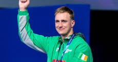 'When I hit the board, I thought it was about time the tricolour was raised above the podium'