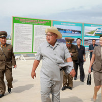 Red Cross warn that North Korea is on the brink of a 'full-blown' food crisis as crops fail in heatwave