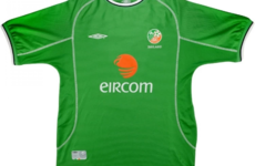 Here's where you can get a retro Irish jersey now that they're the height of fashion