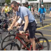 The Dublin Cycling Campaign is holding a mass protest cycle along the quays today
