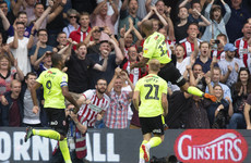 Without a club for most of the summer, Irish striker McGoldrick scores crucial winner in the Championship